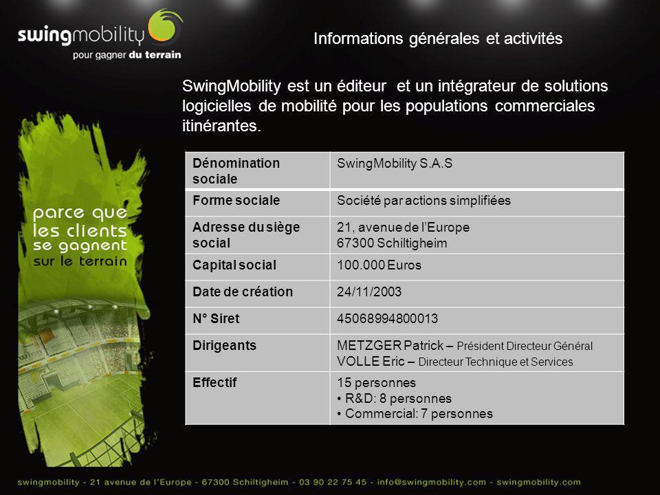 Informations générales et activités