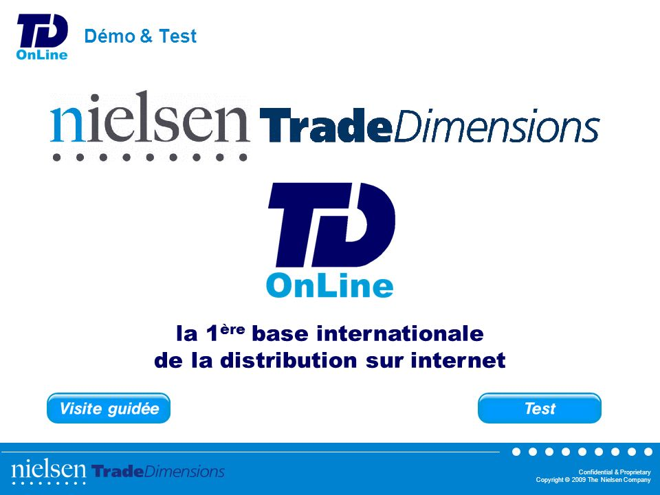 la 1ère base internationale de la distribution sur internet