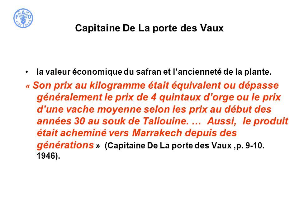 Capitaine De La porte des Vaux