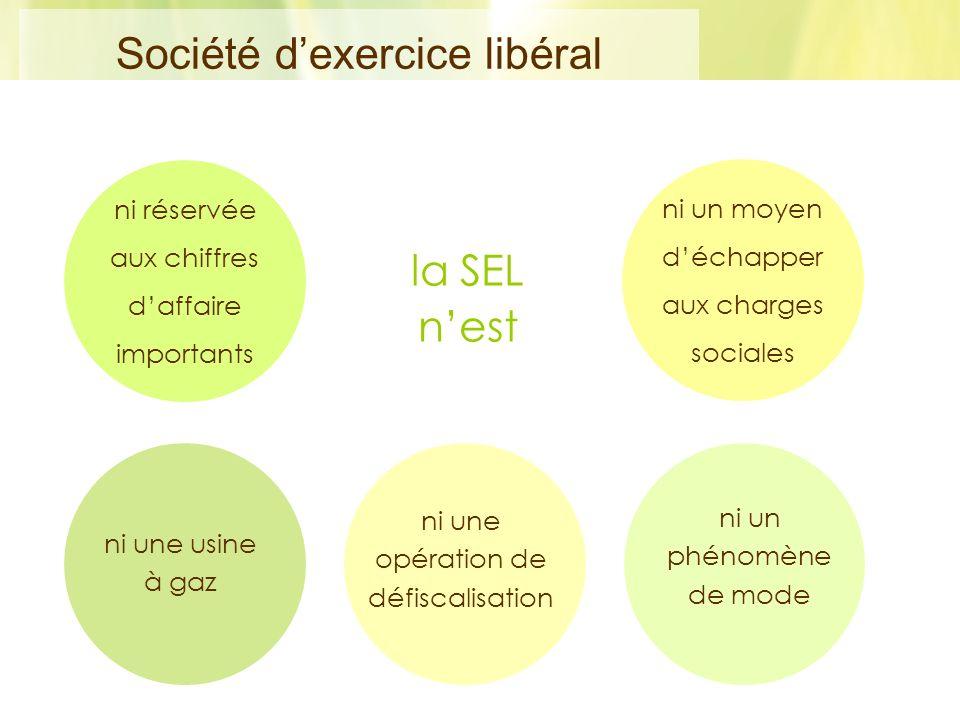 Société d'exercice libéral
