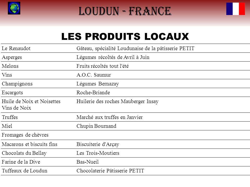 LES PRODUITS LOCAUX Le Renaudot
