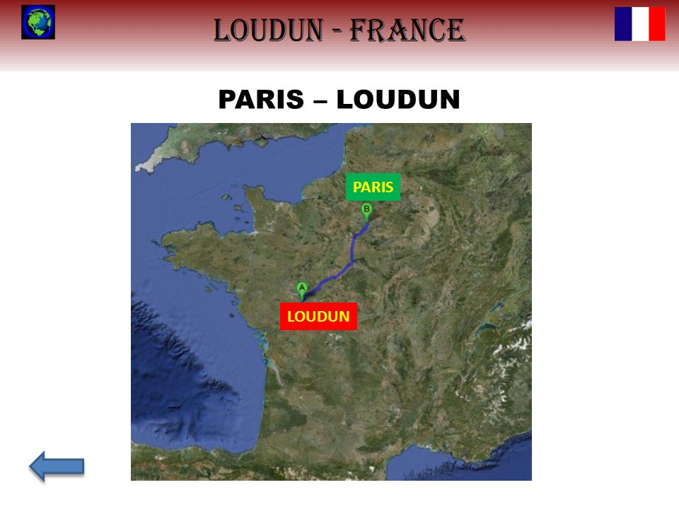 PARIS – LOUDUN PARIS LOUDUN
