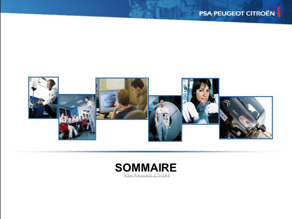 Sommaire SOMMAIRE P S A P e u g e o t C i t r o ë n 2