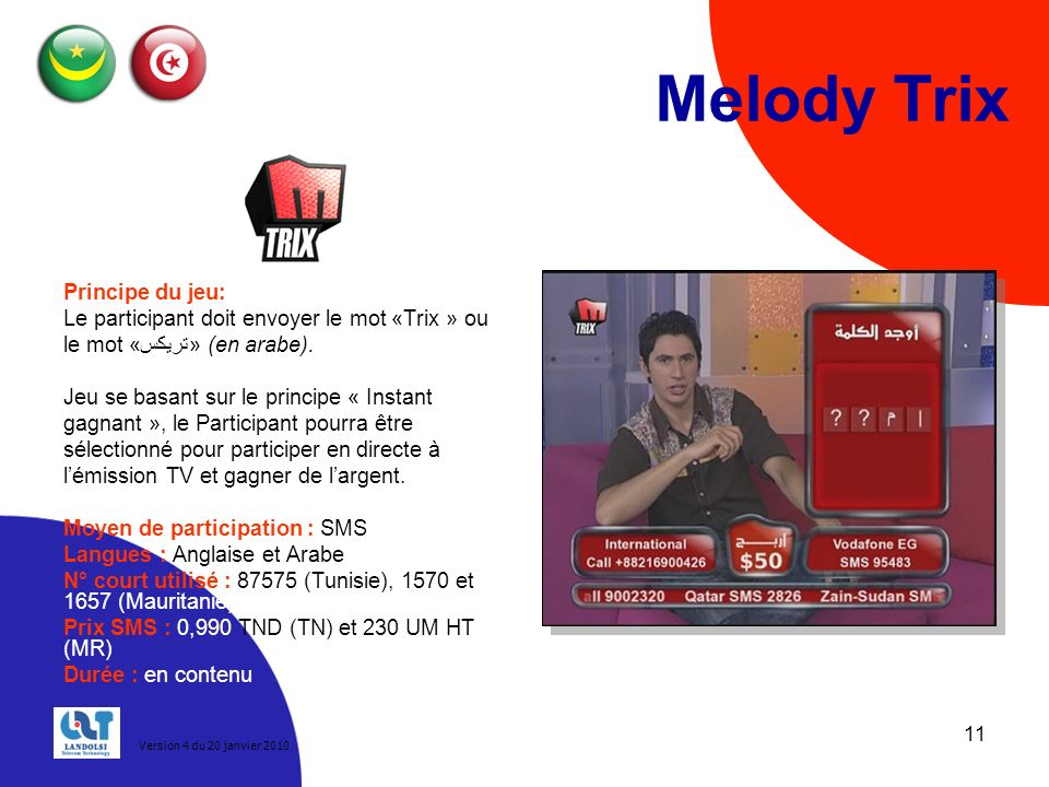 Melody Trix Principe du jeu: