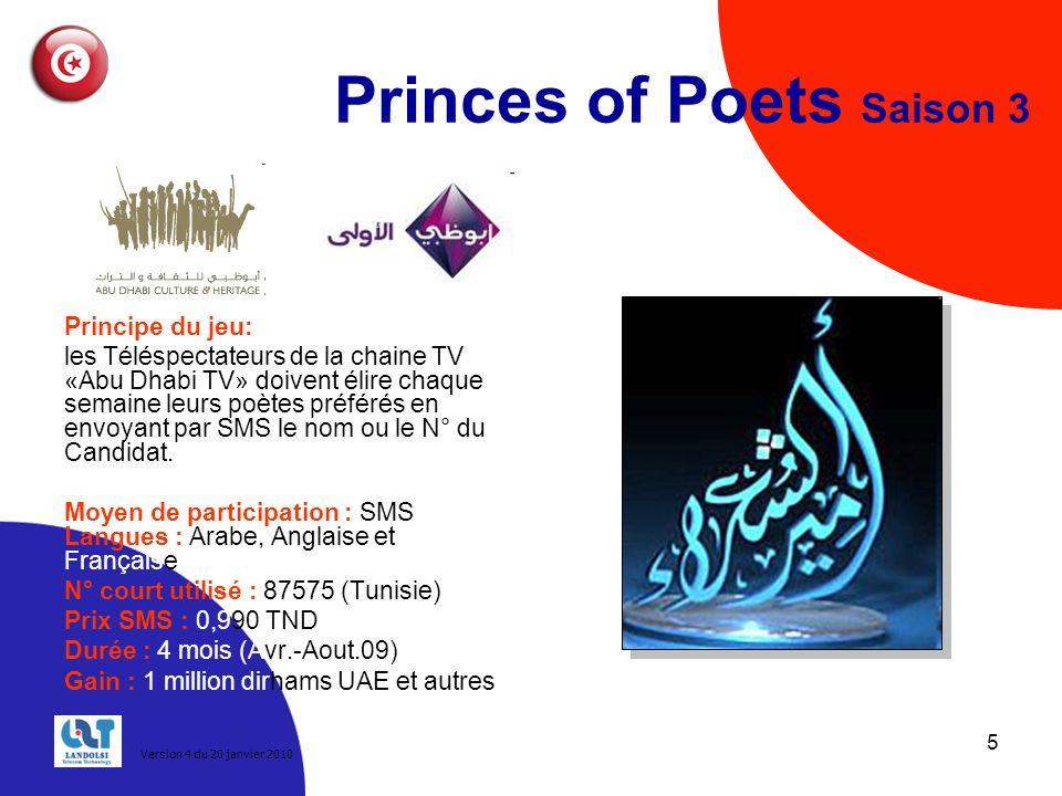 Princes of Poets Saison 3