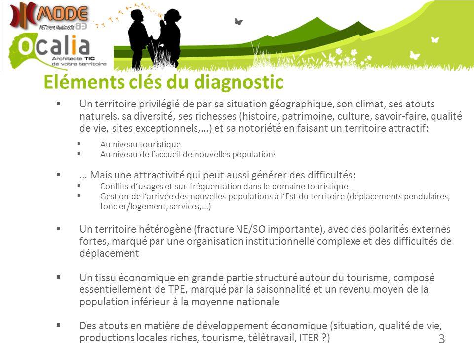 Eléments clés du diagnostic