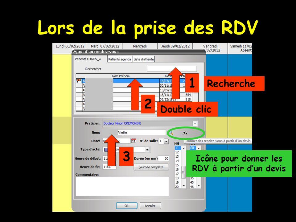 Icône pour donner les RDV à partir d'un devis