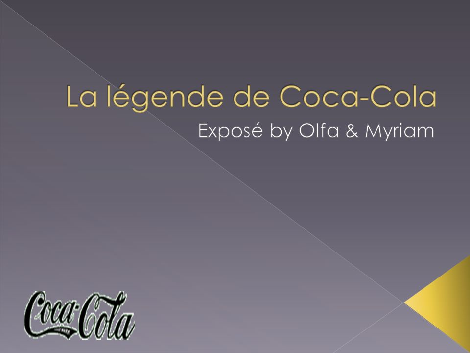 La légende de Coca-Cola