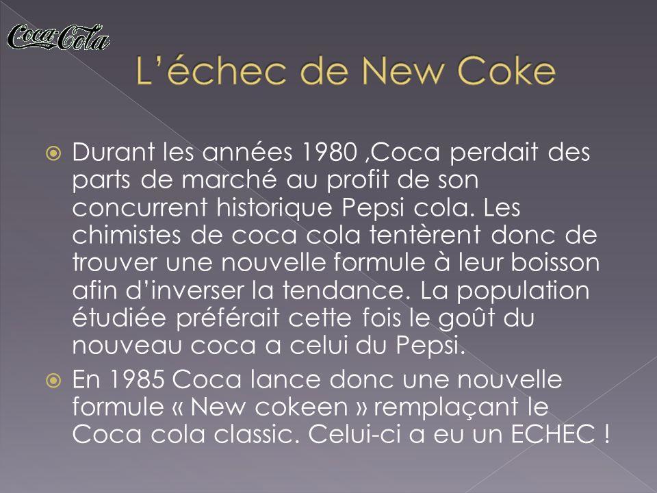 L'échec de New Coke