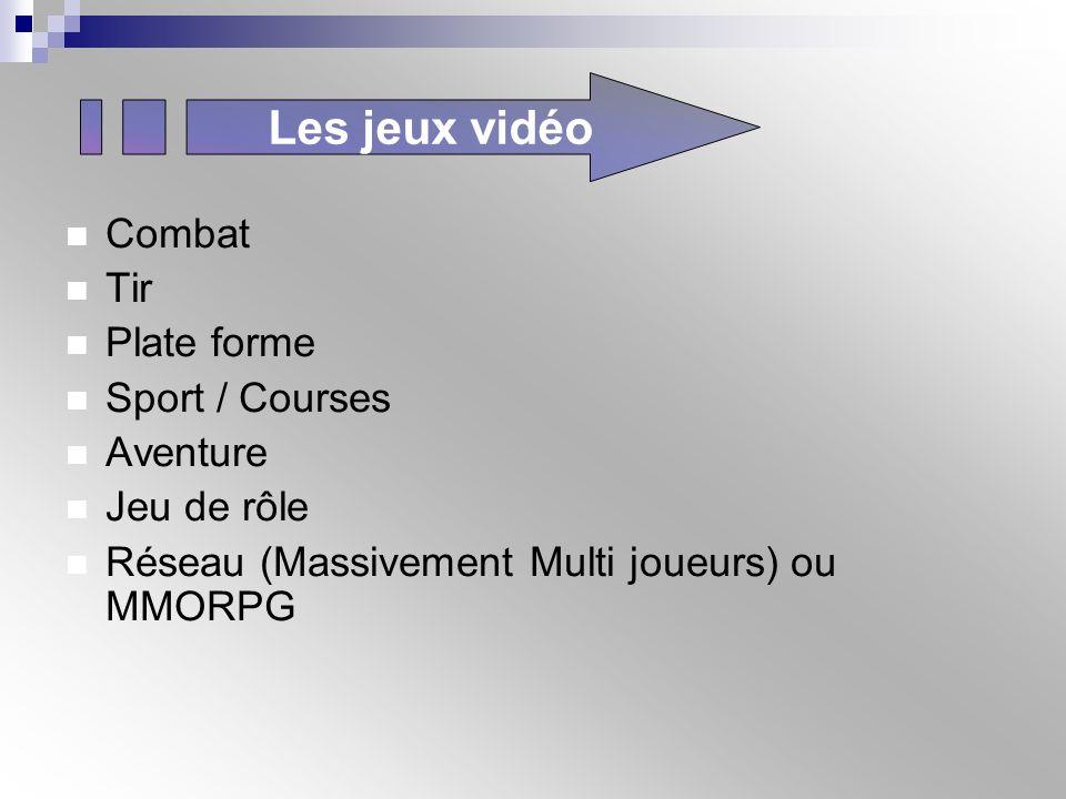 Les jeux vidéo Combat Tir Plate forme Sport / Courses Aventure
