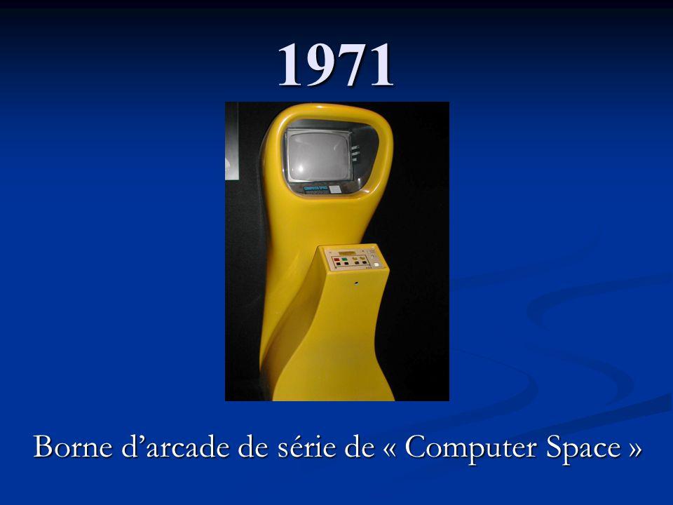 Borne d'arcade de série de « Computer Space »