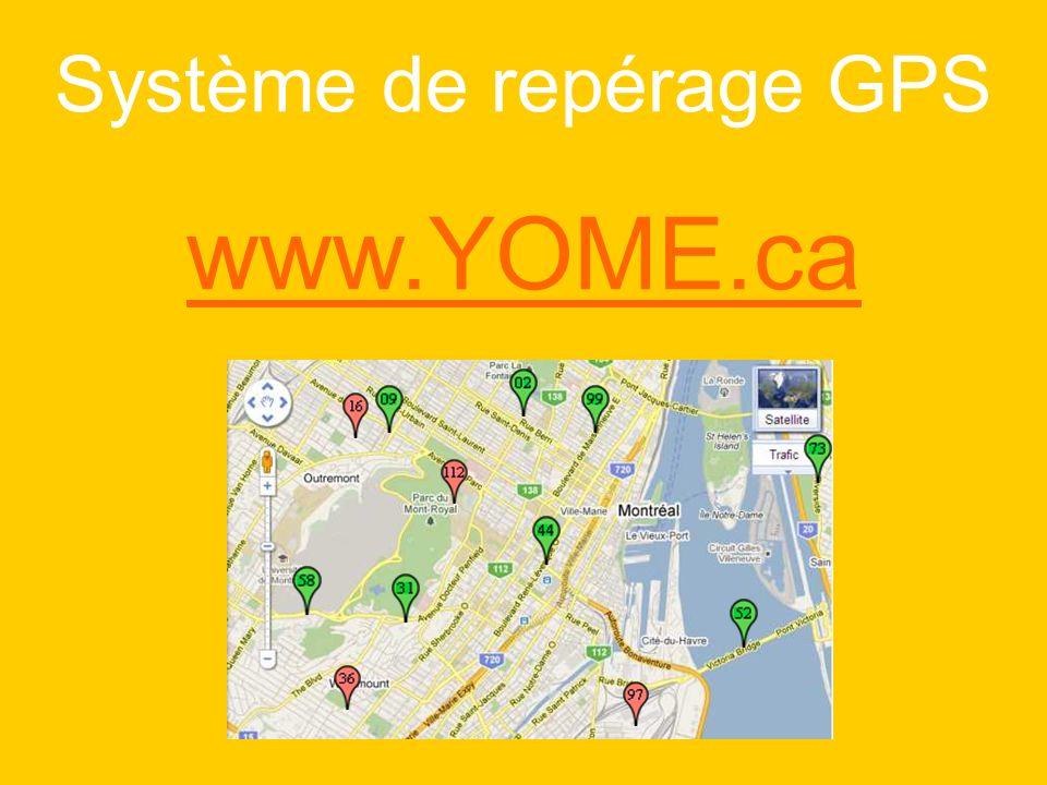 Système de repérage GPS