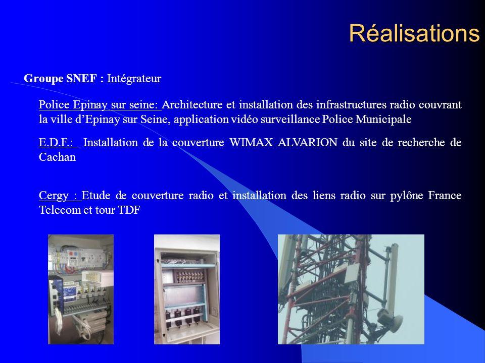 Réalisations Groupe SNEF : Intégrateur