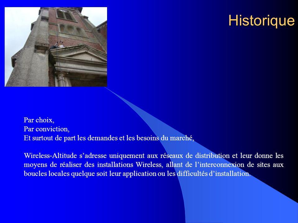 Historique Par choix, Par conviction,