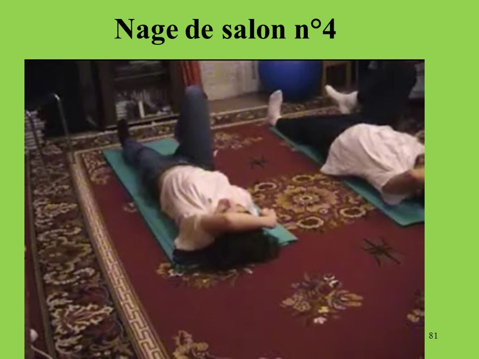 Nage de salon n°4