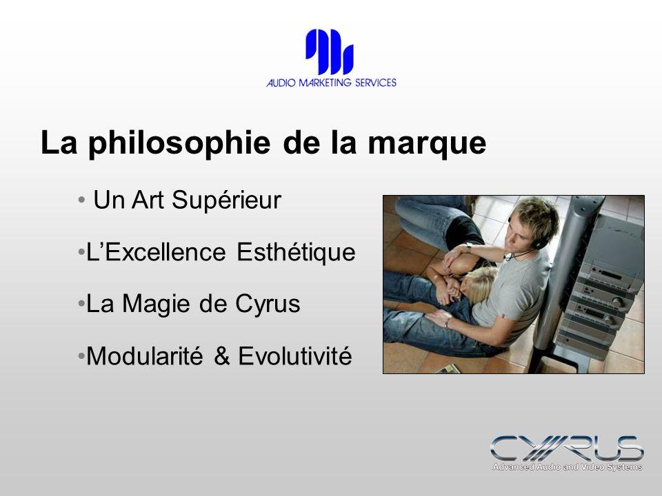 La philosophie de la marque