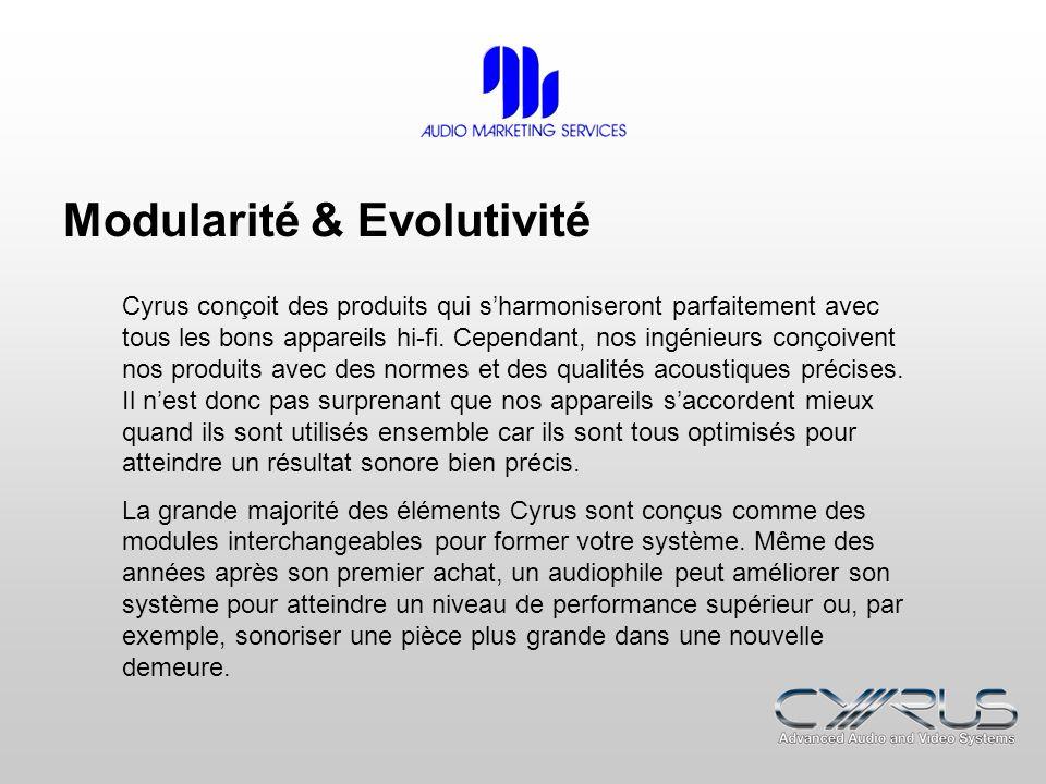 Modularité & Evolutivité
