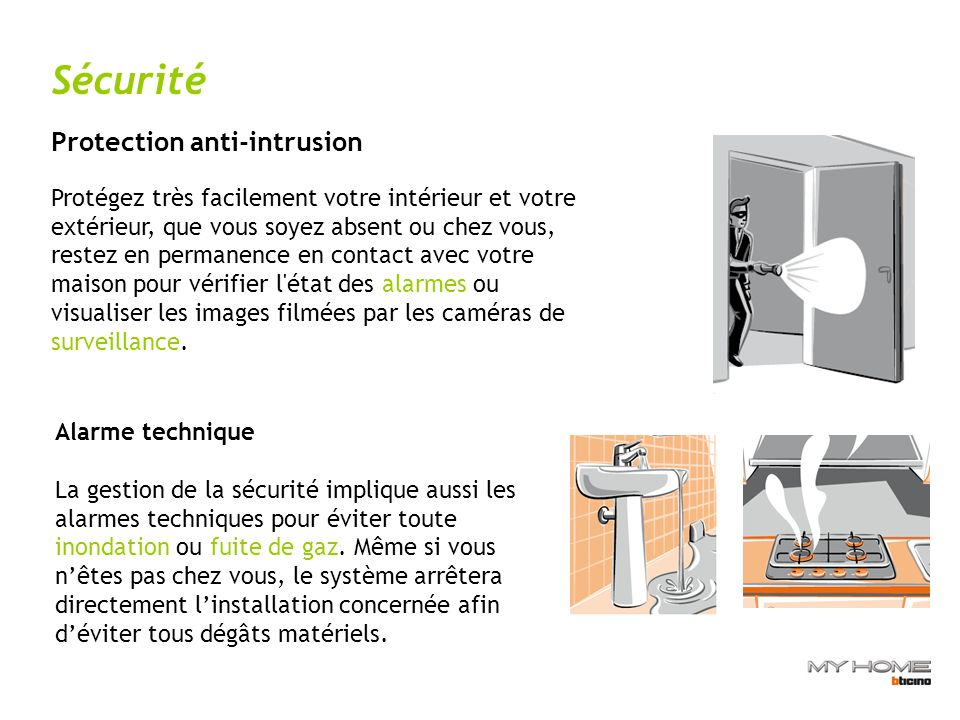 Sécurité Protection anti-intrusion