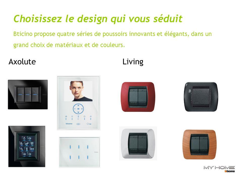 Choisissez le design qui vous séduit