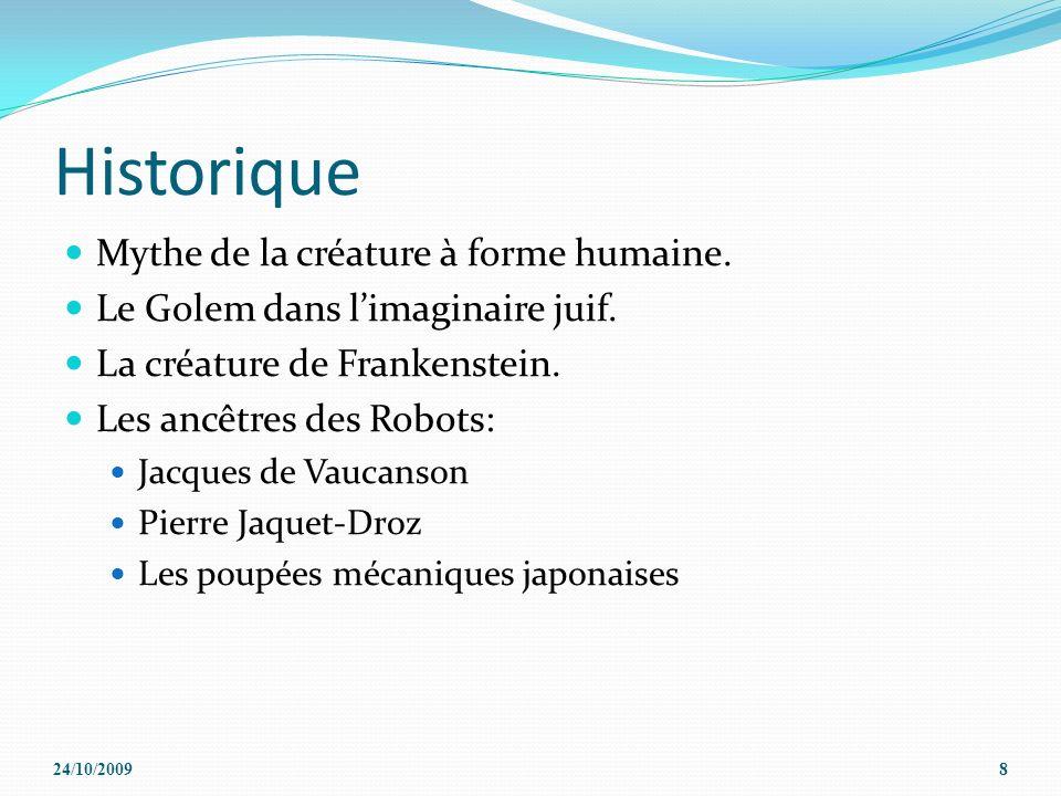 Historique Mythe de la créature à forme humaine.