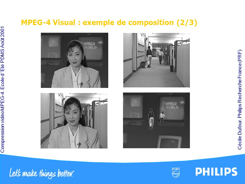 MPEG-4 Visual : exemple de composition (2/3)