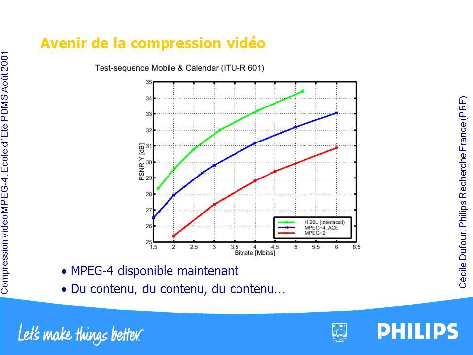 Avenir de la compression vidéo