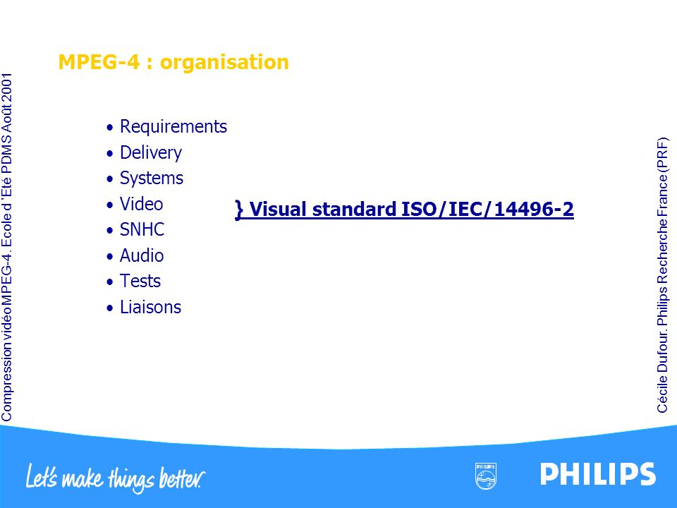 } Visual standard ISO/IEC/14496-2
