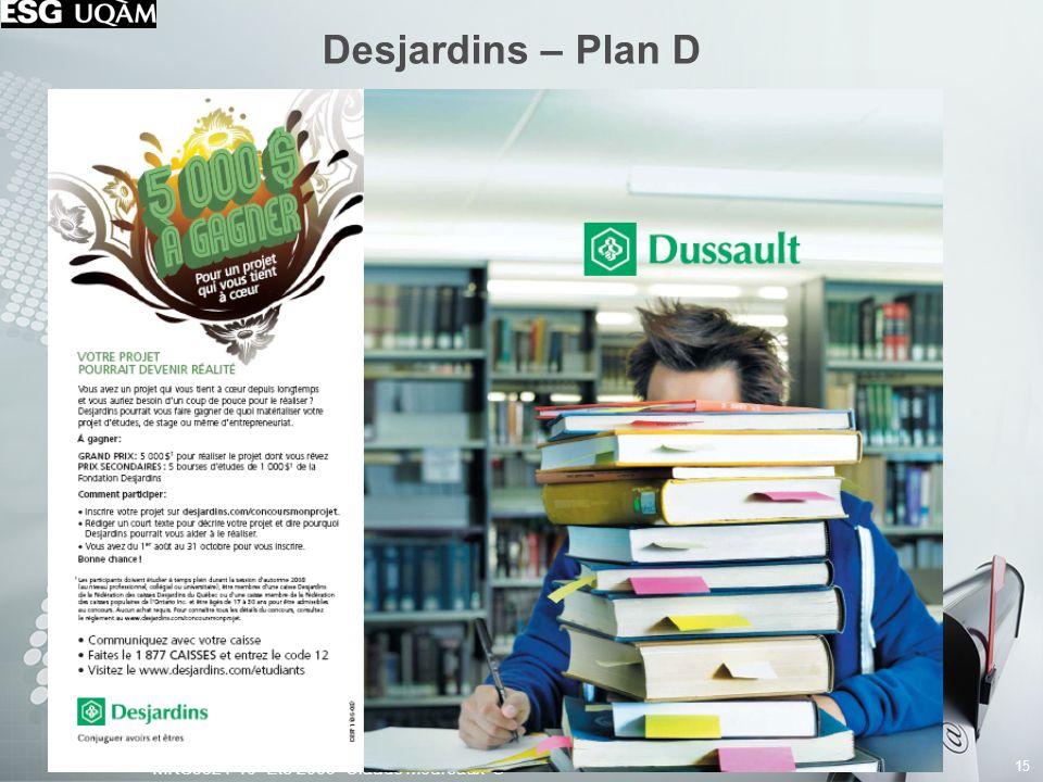 Desjardins – Plan D