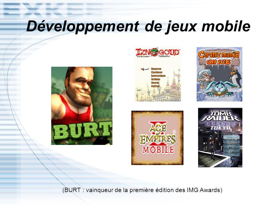 Développement de jeux mobile