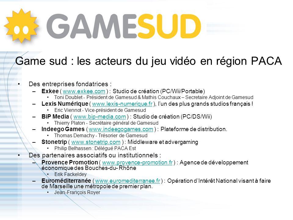 Game sud : les acteurs du jeu vidéo en région PACA