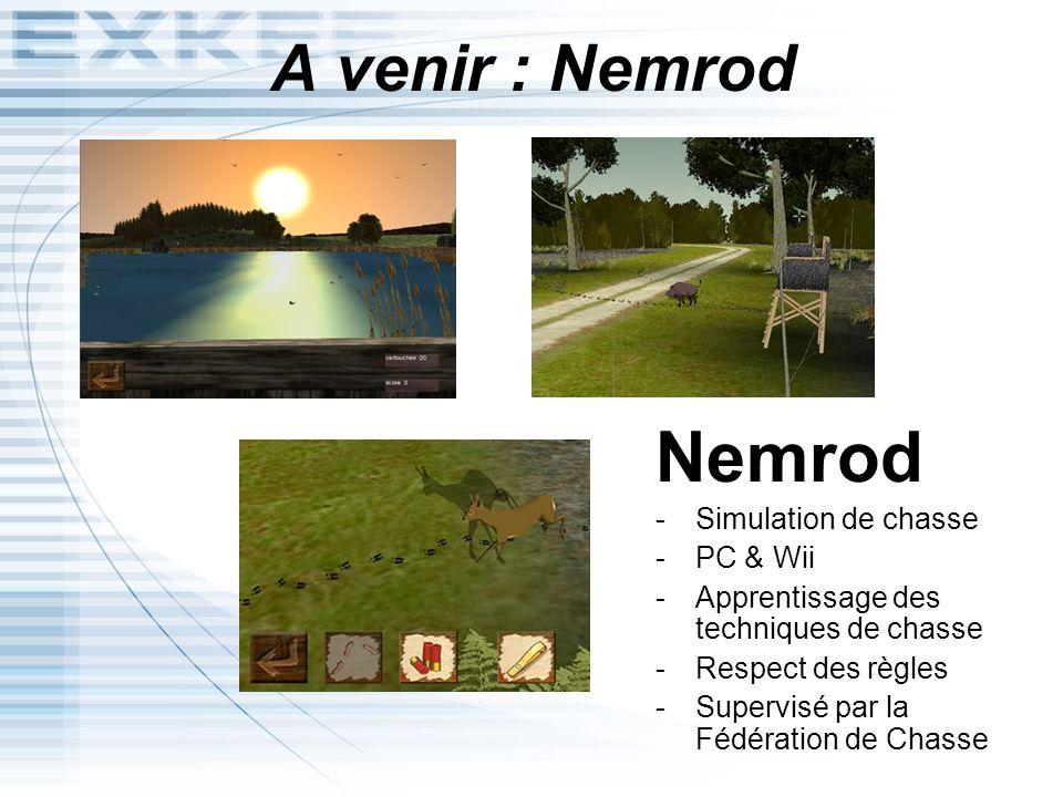 Nemrod A venir : Nemrod Simulation de chasse PC & Wii