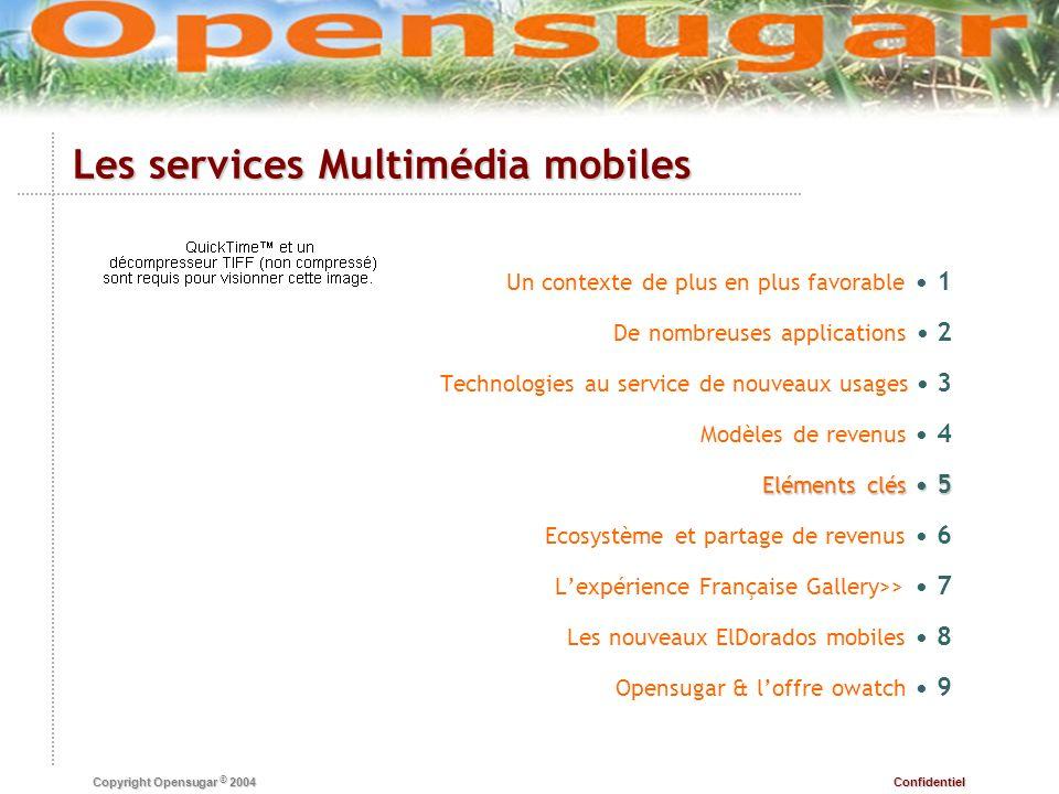 Les services Multimédia mobiles