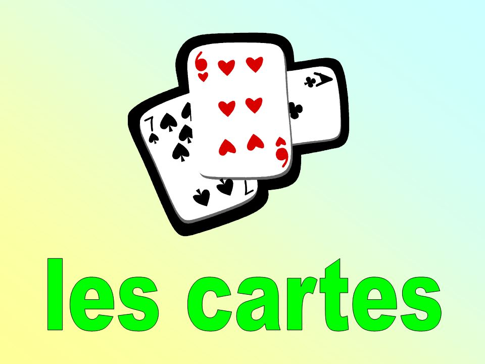 les cartes