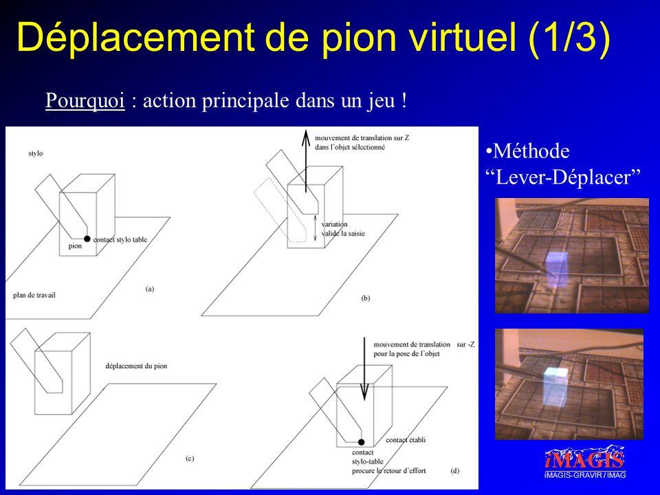 Déplacement de pion virtuel (1/3)