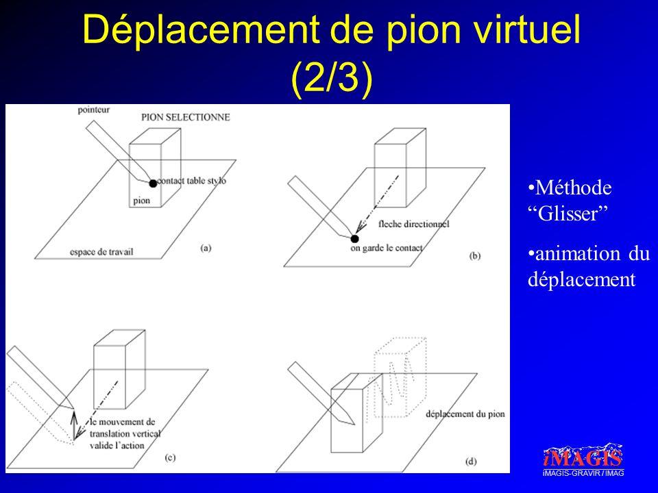 Déplacement de pion virtuel (2/3)