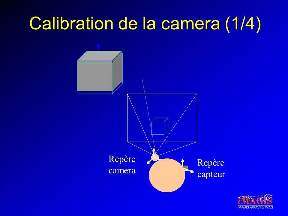 Calibration de la camera (1/4)