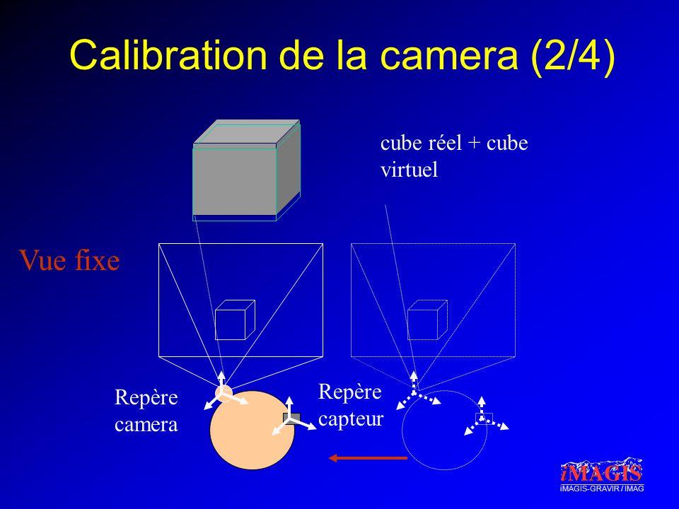 Calibration de la camera (2/4)