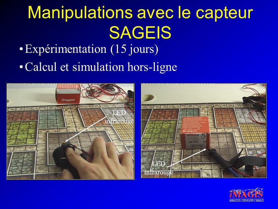 Manipulations avec le capteur SAGEIS