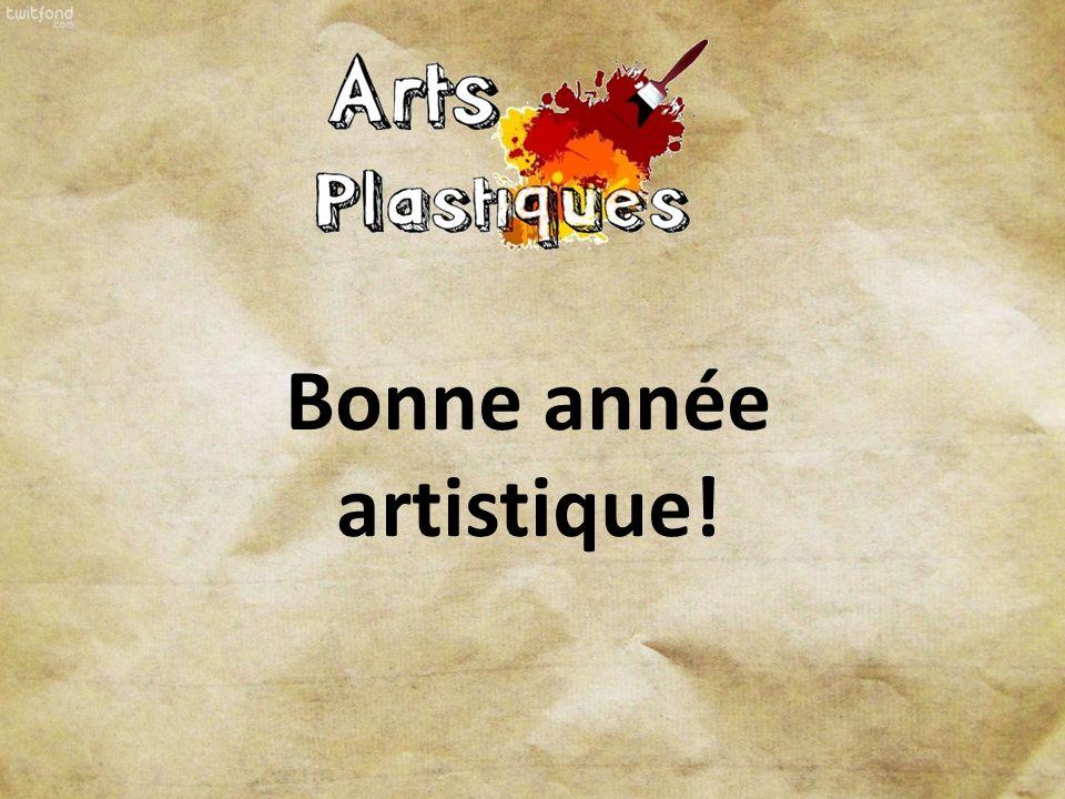 Bonne année artistique!