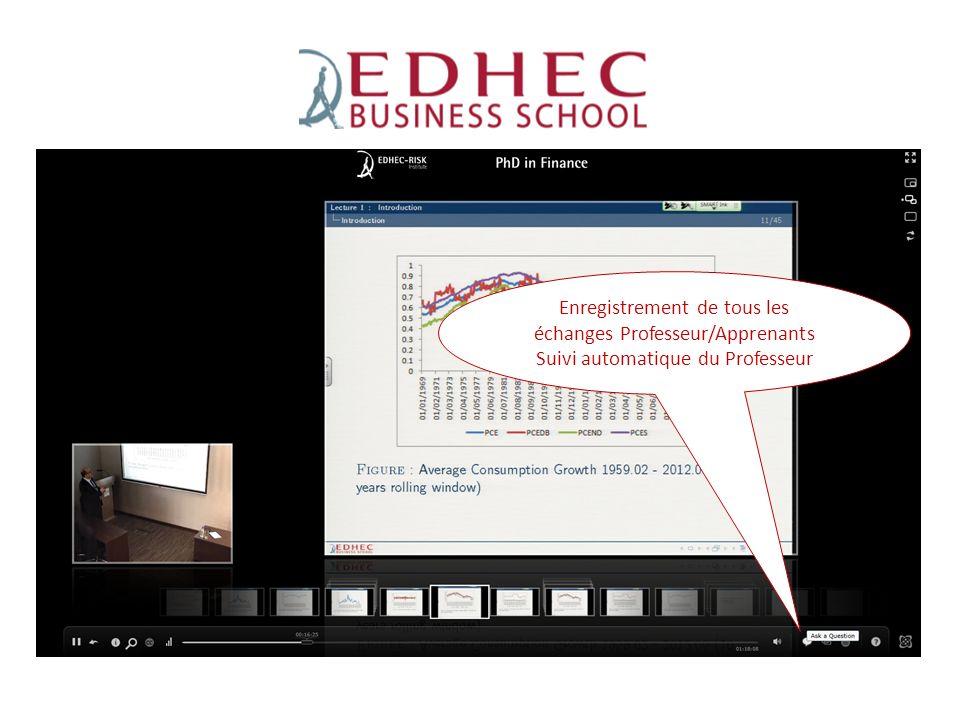 ESPEME Enregistrement de tous les échanges Professeur/Apprenants