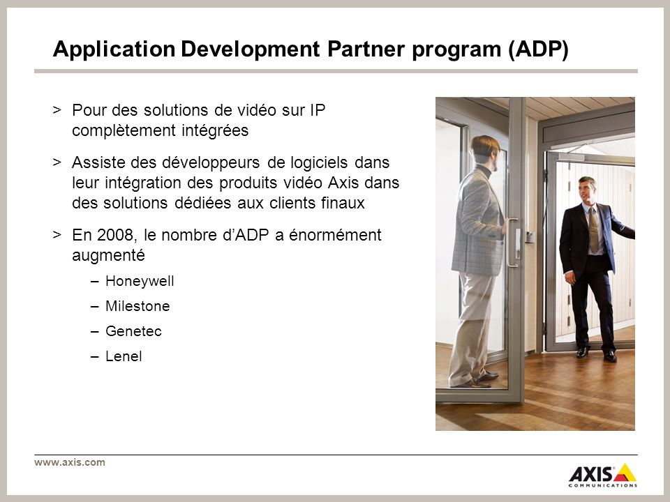 Application Development Partner program (ADP)