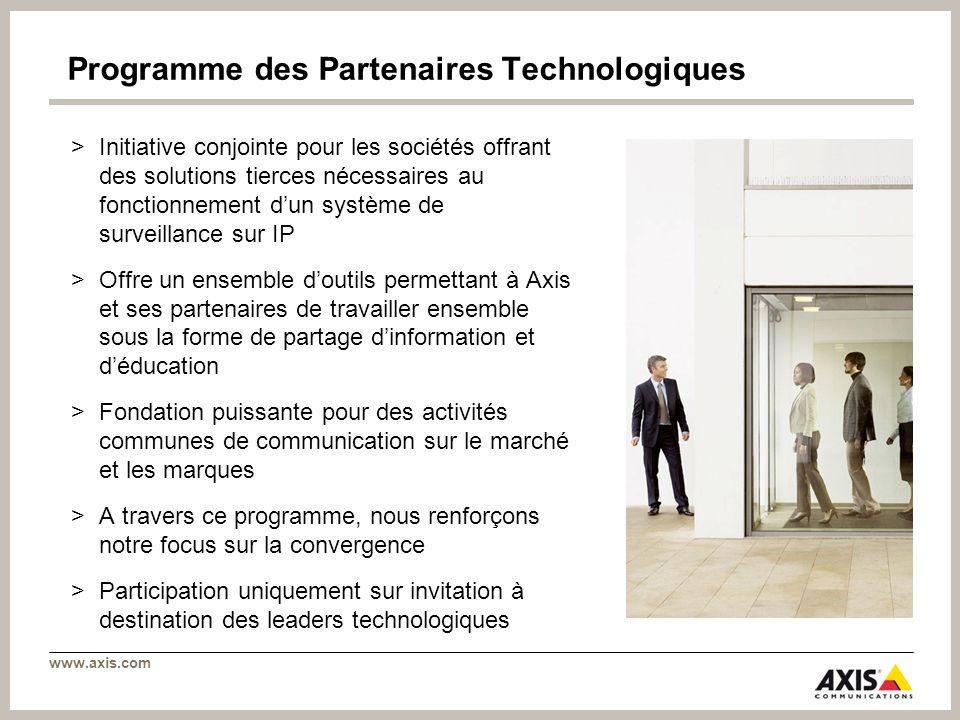 Programme des Partenaires Technologiques