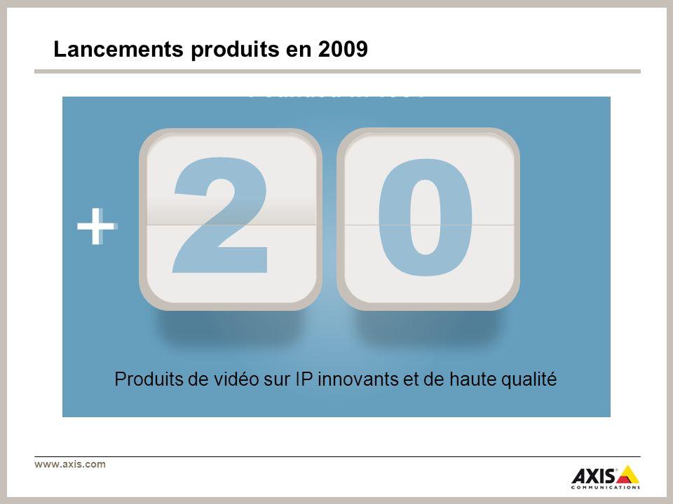 Lancements produits en 2009