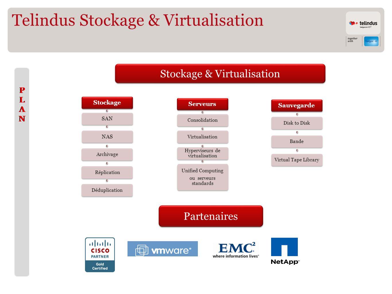 Telindus Stockage & Virtualisation