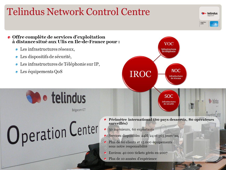Telindus Network Control Centre