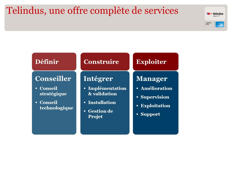 Telindus, une offre complète de services