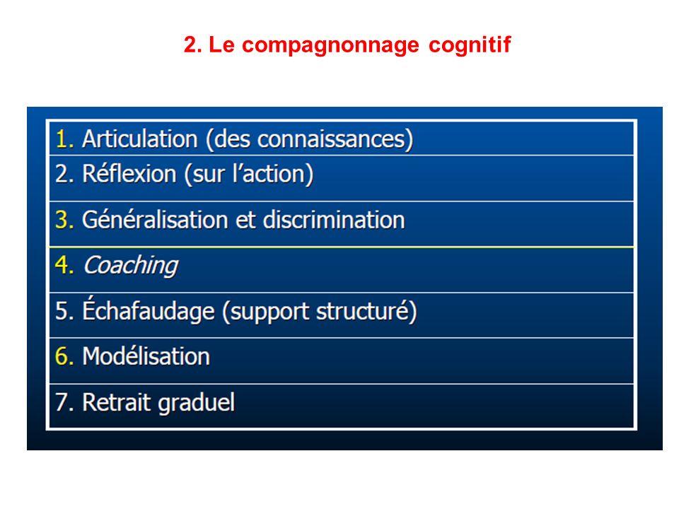 2. Le compagnonnage cognitif