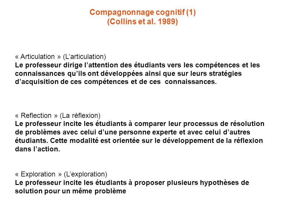Compagnonnage cognitif (1)