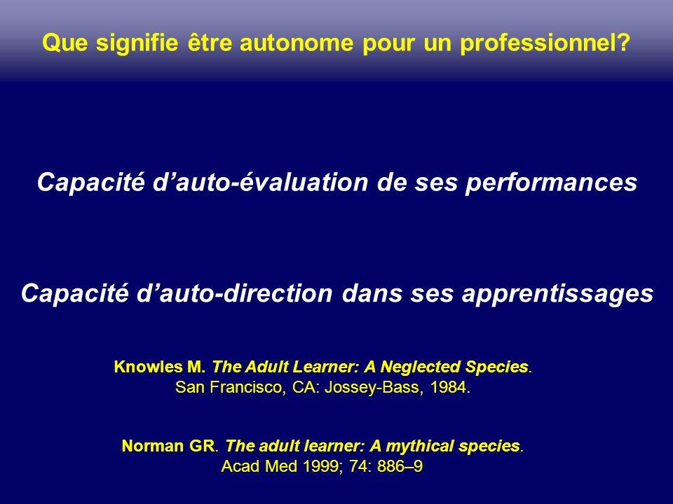 Que signifie être autonome pour un professionnel