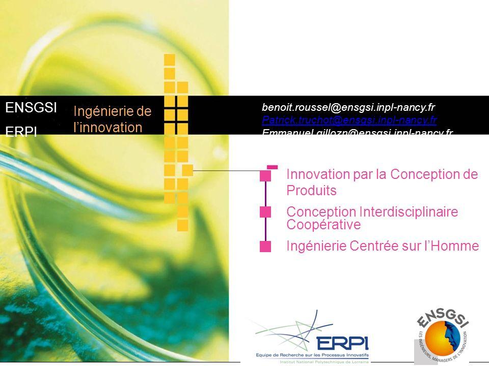 Innovation par la Conception de Produits